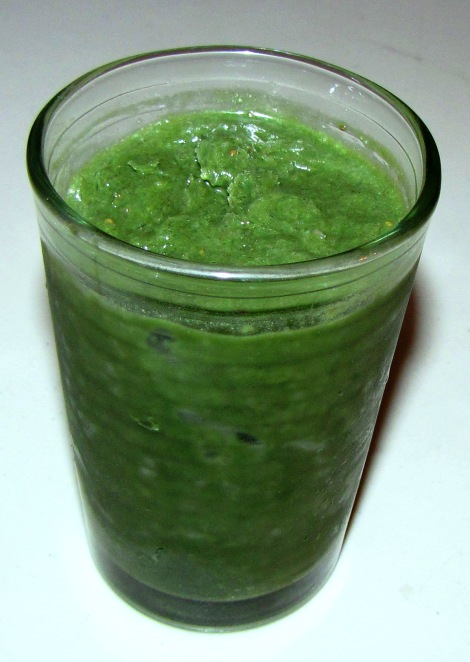 smoothie greenie